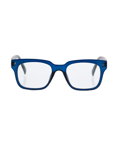 6am Dark Blue Reading Glasses