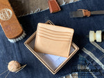 The Classicty Card Holder Iii (9 Slots) Handstitched