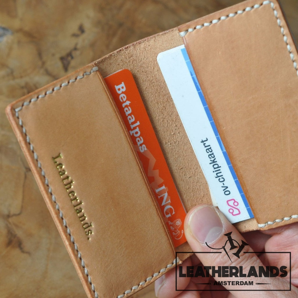 The Flippa Card Holder Handstitched