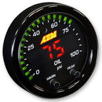 AEM X-Series Oil Pressure Gauge