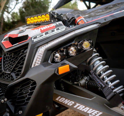 Baja Designs LED Headlight Kit | Can-Am X3