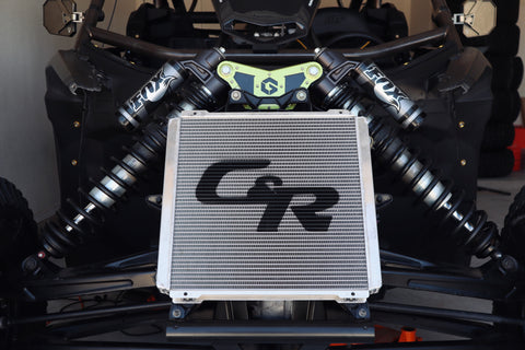C&R Can-Am X3 Double Pass Performance Radiator