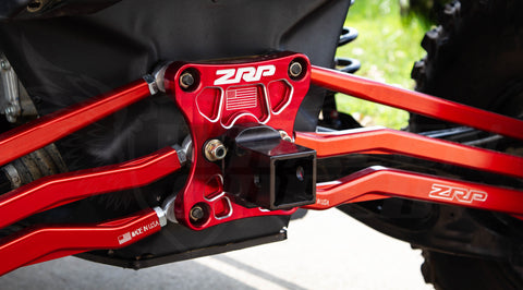 ZRP Billet Radius Rod Plate | Can-Am X3