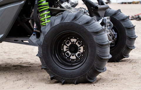 Sand Tires Unlimited Paddles | Rear