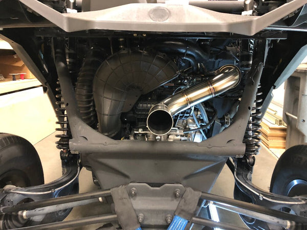"Treal Can-Am X3 ""Straight Pipe"" Exhaust 