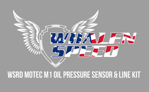 WSRD Motec M1 Oil Pressure Sensor & Line Kit | Can-Am X3