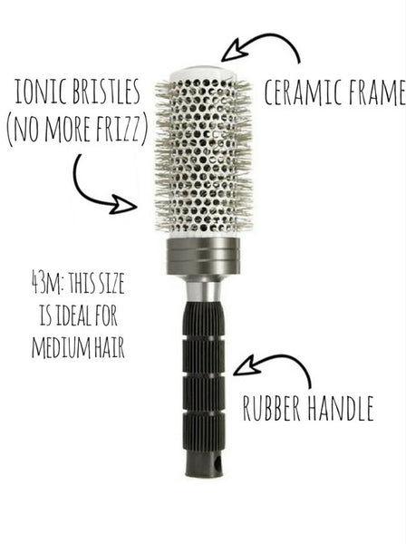 CENTINI PRO-IONIC BLOWDRY BRUSH