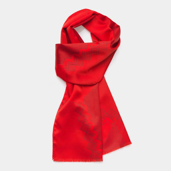 Red Scarf - Memphis Milano