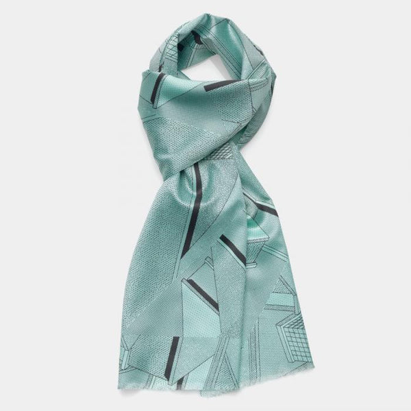 Light-Blue Scarf - Memphis Milano