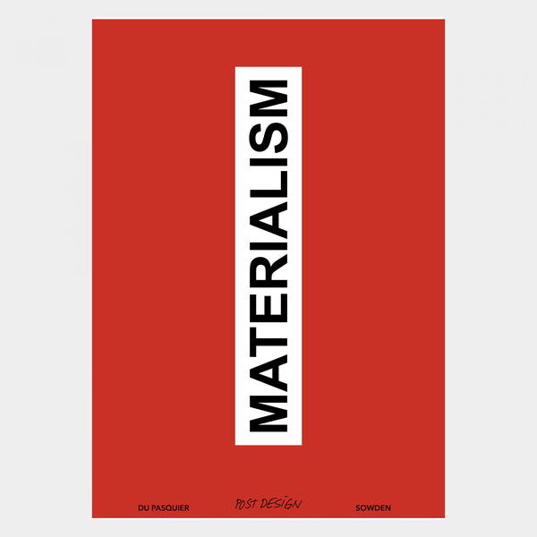 """Materialism"" Catalogue - Memphis Milano"