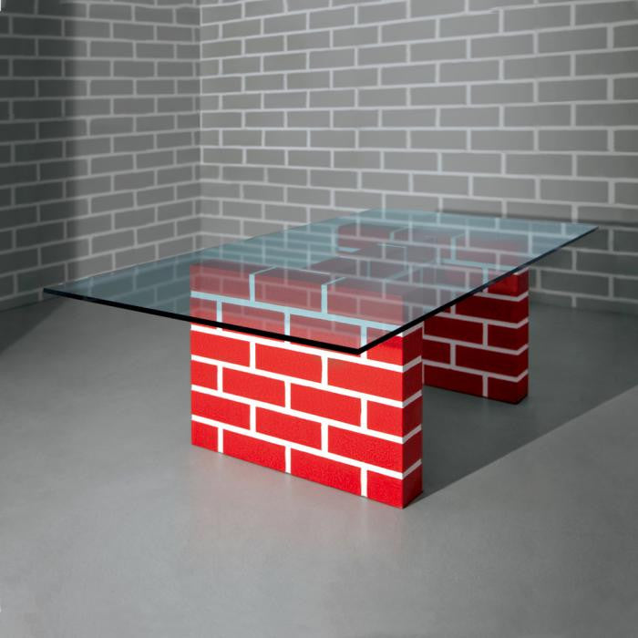 Red Brick Table No. 2 - Memphis Milano