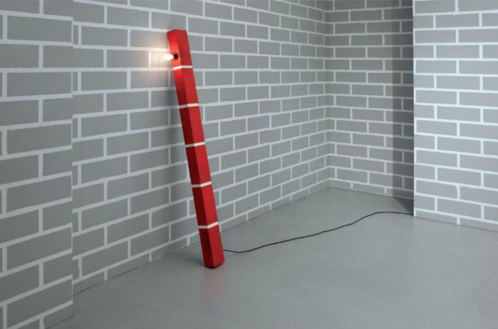 Red Brick Lamp No.1