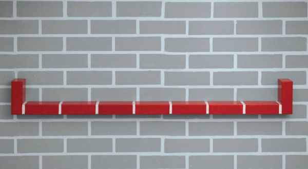 Red Brick Shelf No.4 - Memphis Milano