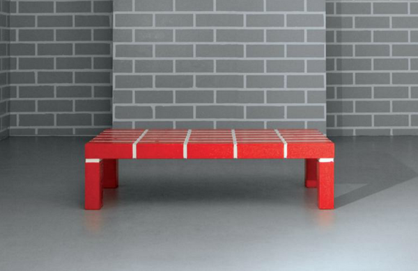 Red Brick Table No.1 - Memphis Milano