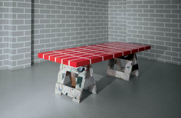 Red Brick Table No.4 - Memphis Milano