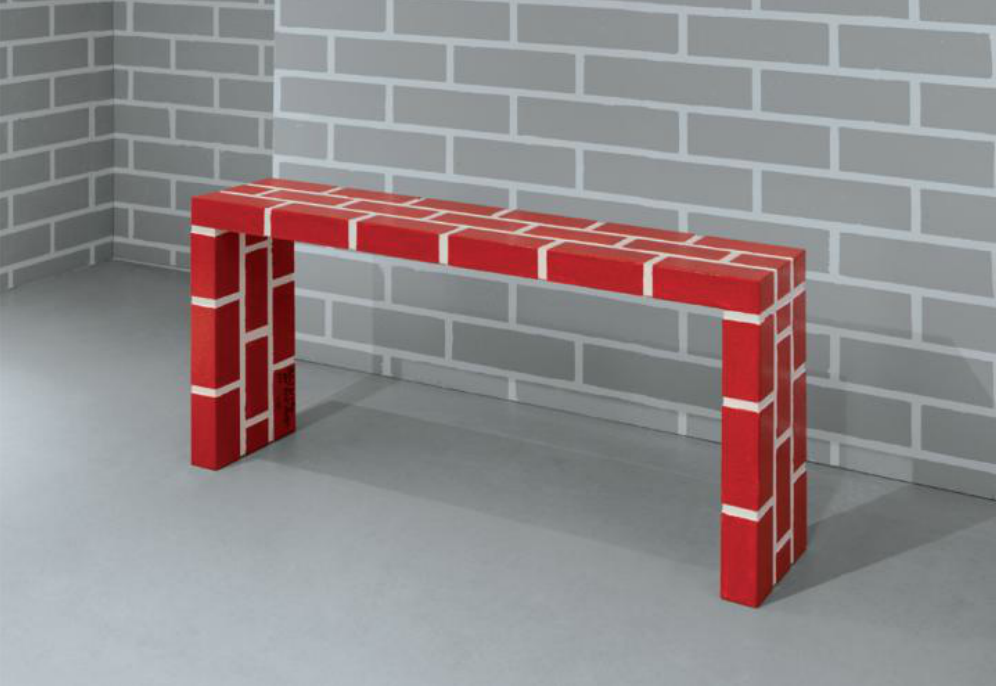 Red Brick Table No.5 - Memphis Milano