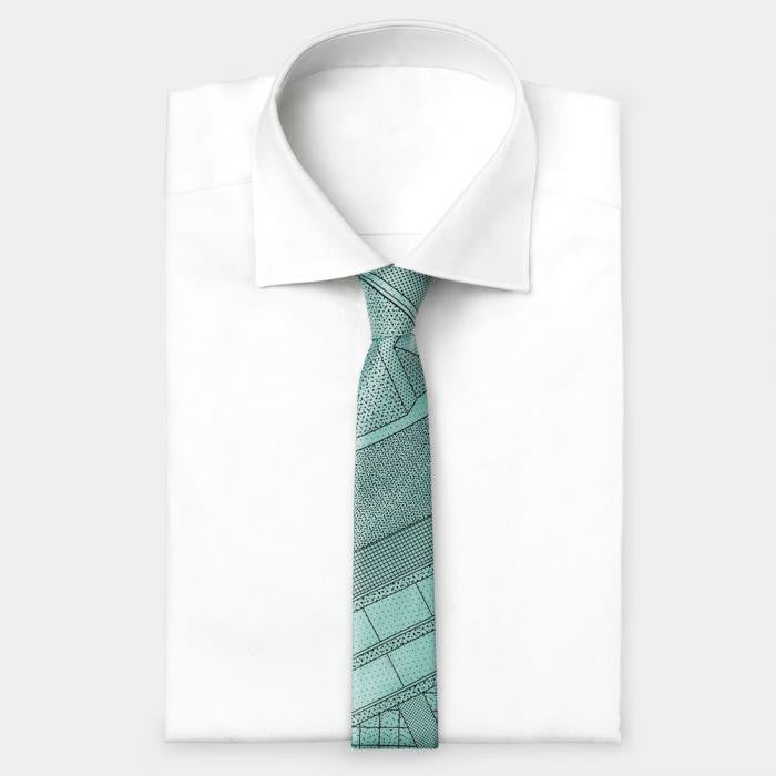 Light Blue Tie - Memphis Milano