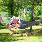 American dream outdoor hammock with stand