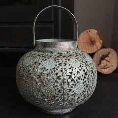 Verdigris Lantern from Spa Living