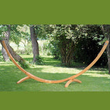 Arcus Wooden Stand for Outdoor Hammocks