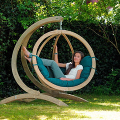 Globo Garden Swing Chair with stand