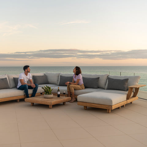 Sereno Exclusive Teak Outdoor Lounge Collection