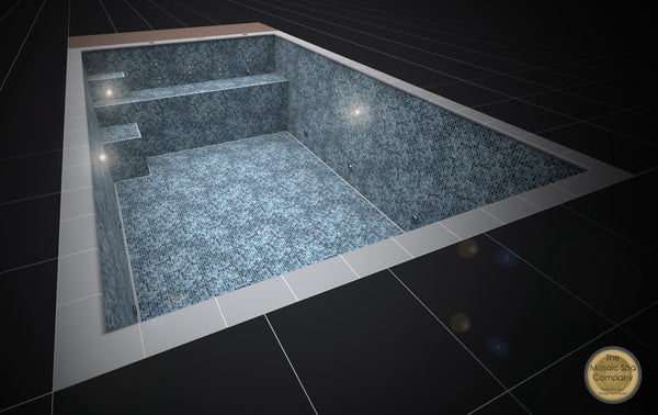 Mosaic Infinity Swim Spa Pool [6]        Purchase Finance available