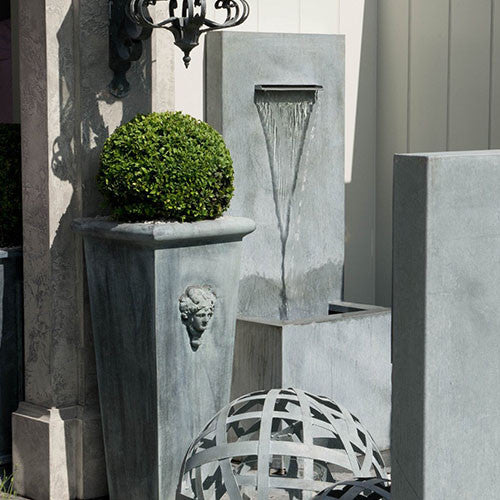 Arno Water Fountain, Letterbox Spout Water Feature, Spa Living - Spa Living
