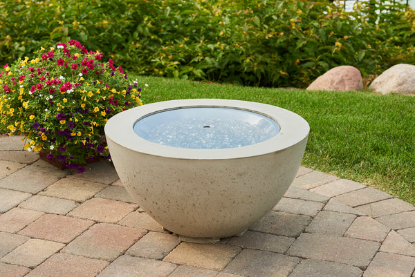 Domo Cove Concrete Outdoor Fire Bowl