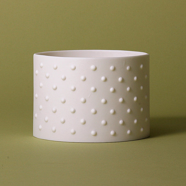 Dotty Porcelain Tea Light Holder, Lighting, Spa Living - Spa Living