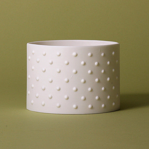 Dotty Porcelain Tea Light Holder, Lighting, Spa Living