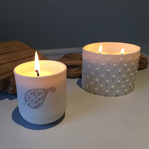 Spa Living Fragranced Candle