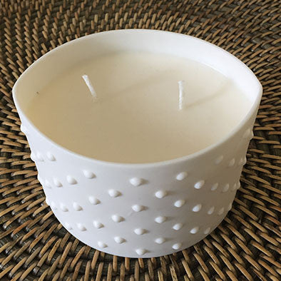 Porcelain Fragranced Candle - Spa Living