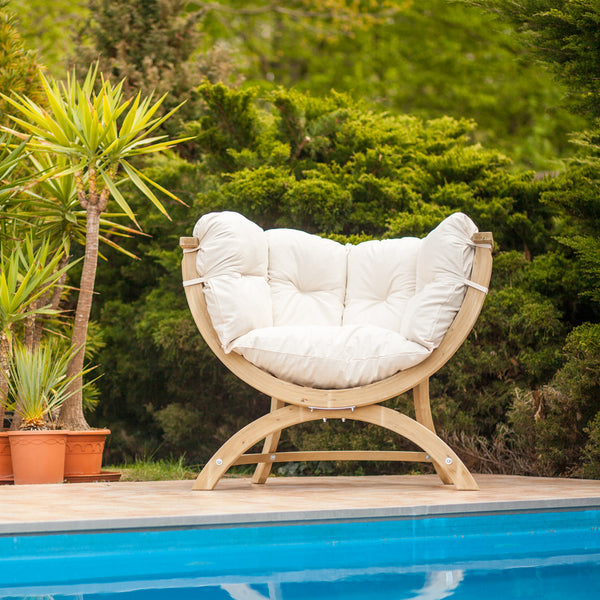 Sienna Uno Sofa Outdoor Relaxation Chair - Spa Living