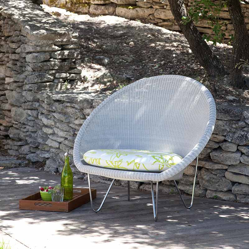 Gigi Lounge Arm Chair, Vincent Sheppard, Outdoor Spa Furniture - Spa Living