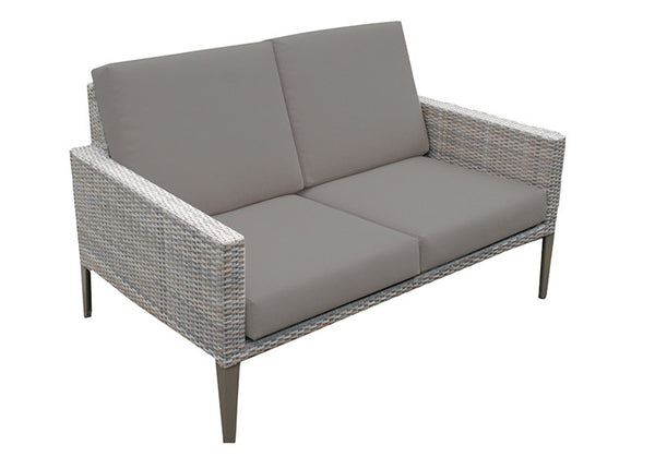 Hampstead rattan outdoor two seater sofa outdoor garden for Outdoor furniture 2 seater