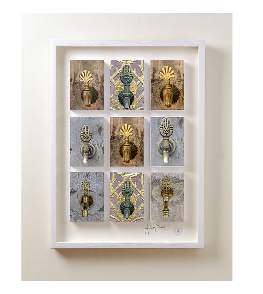 Photographic Art, Hilary Stock Photographer, 9 Images in Boxed Frame - Spa Living