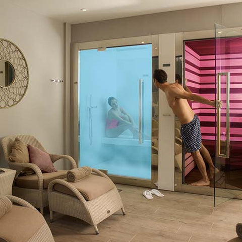 Sweet Spa Steam Room and Sweet Spa Sauna - Spa Living