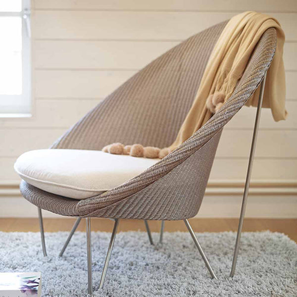 Joe Cocoon Arm Chair, Vincent Sheppard, Spa Indoor Furniture - Spa Living