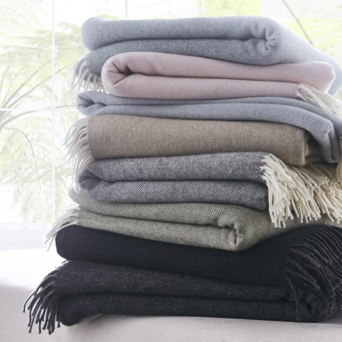 Merino Lambs Wool Relaxation Throw - Spa Living
