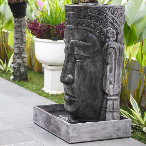 Khmer Buddha Large Water Feature Spa Living