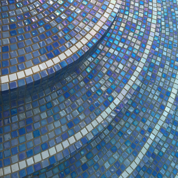 Mosaic Round Vitality Spa Pool [4 Person] - Spa Living