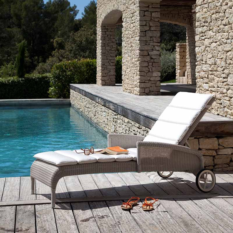 Safi Poolside Lounger, Vincent Sheppard, Outdoor Spa Furniture - Spa Living