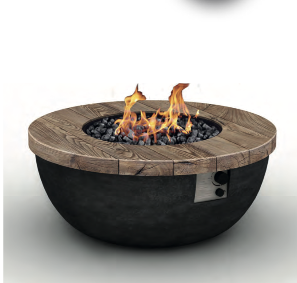 Foremost Fire Table, Outdoor Fires and Fire Pits - Spa Living