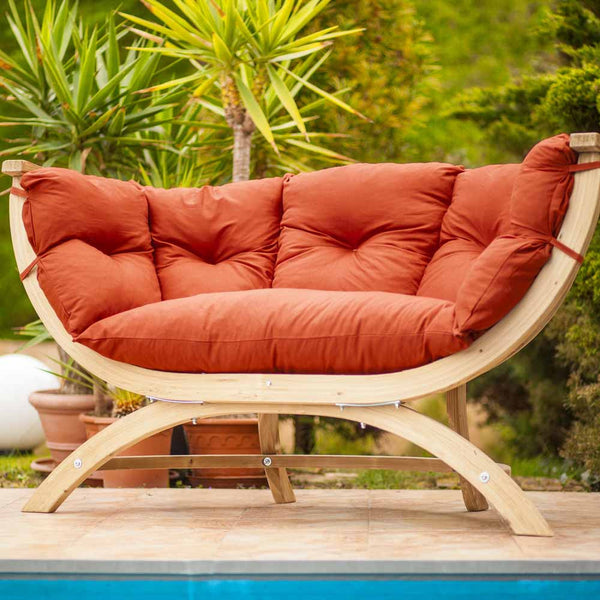 Sienna Due Sofa Outdoor Garden Furniture - Spa Living