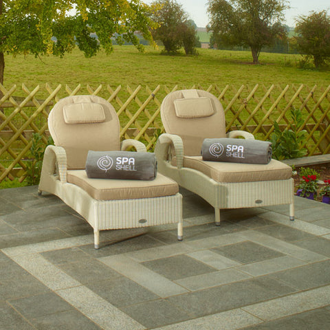 Sussex Sun Outdoor Poolside and Garden Lounger - Spa Living