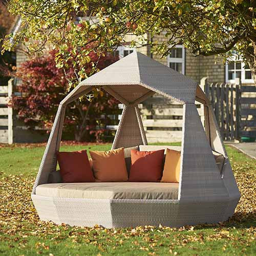 The Jewel Day Bed Autumn colours, Outdoor Garden Furniture, Spa Living