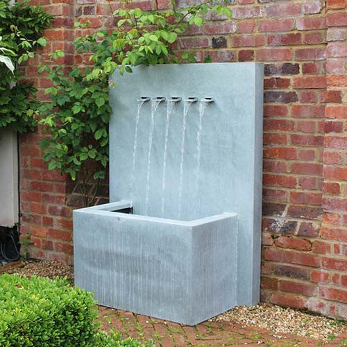 Veneto Water Fountain, Multi Spout Water Feature, Spa Living - Spa Living