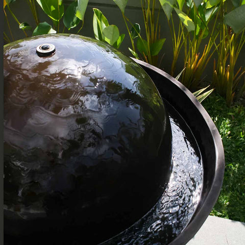 Volcano Fountain, Large Water Feature, Outdoor Living - Spa Living