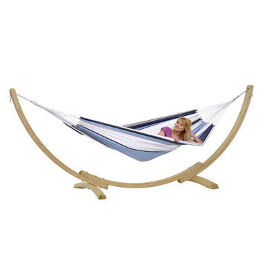 Apollo Garden Hammock and Wooden Stand - Spa Living